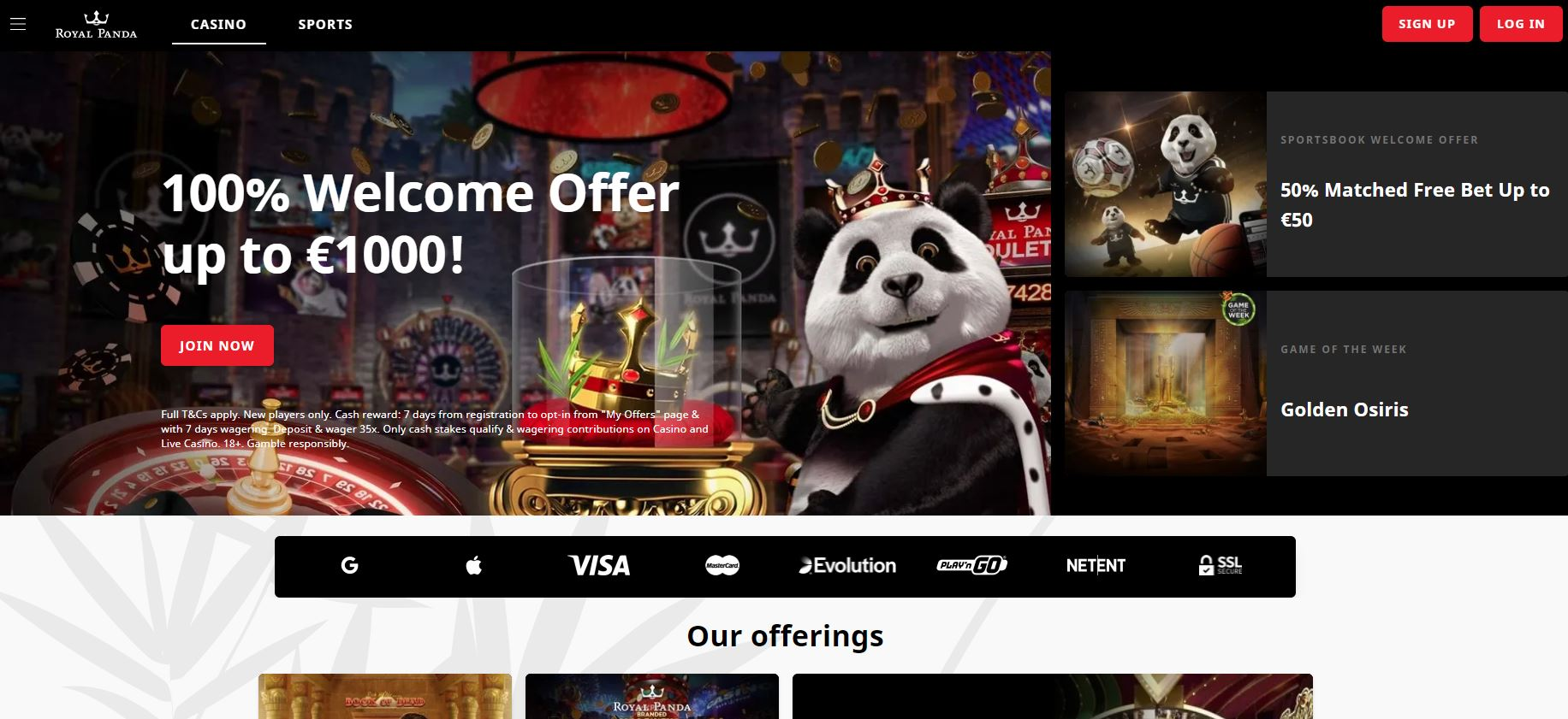 panda casino